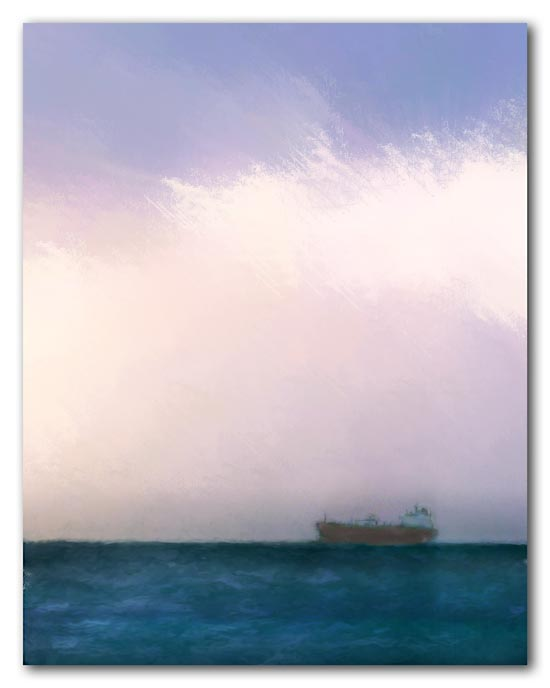 Tanker in waiting - 2009