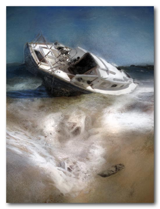 Blown ashore - 2009