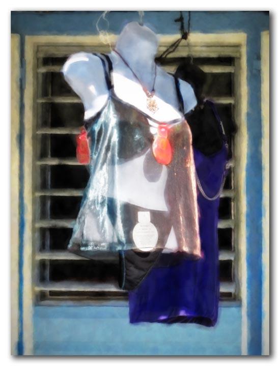 Caribbean lingerie shop