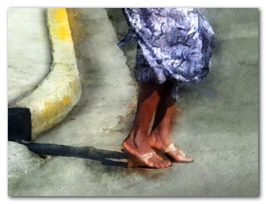 dancing feet in Frederiksted