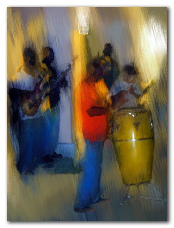 quadrille, the music