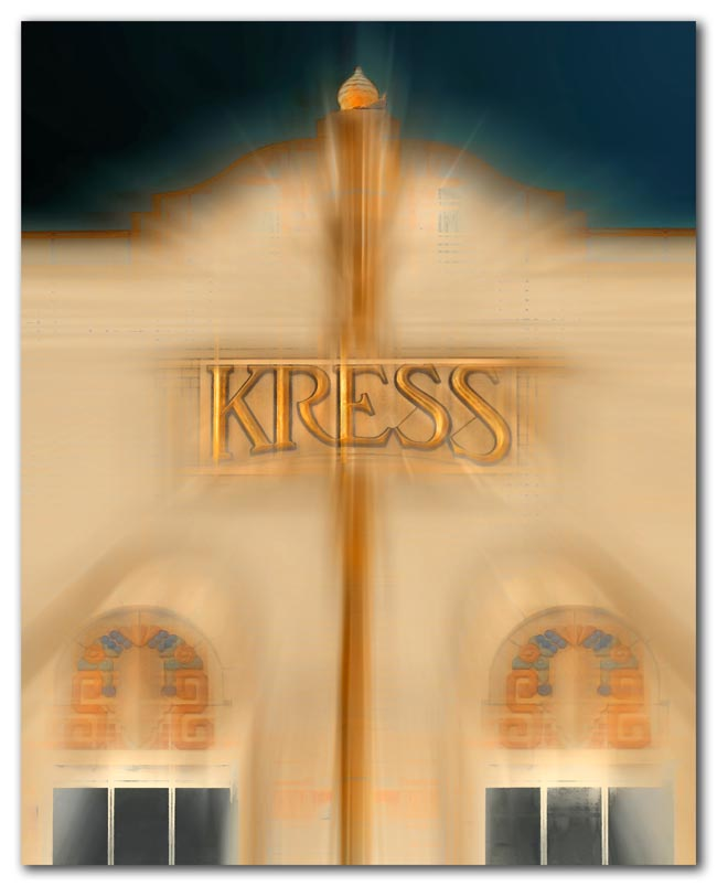 The old Kress building, Sarasota