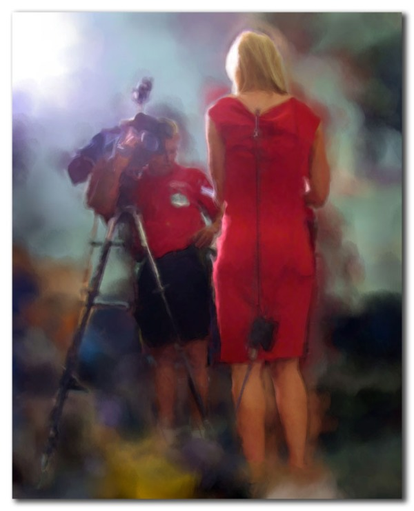 Making (up) the News - in Red