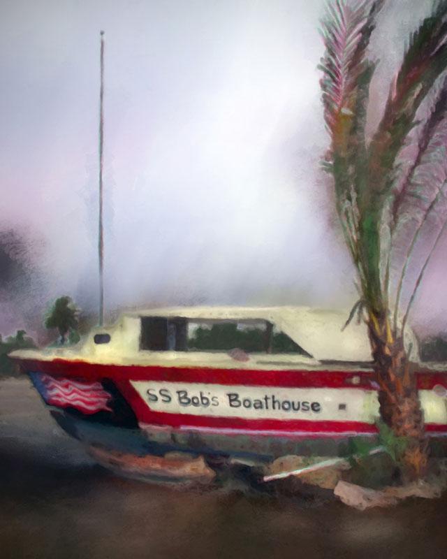 Bob's boathouse in Sarasota