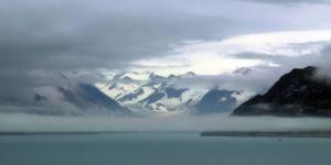 Fairweather Range from Glacier Bay, Alaska