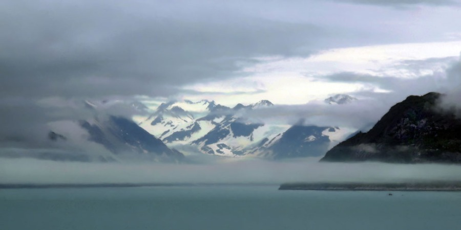Fairweather Range from Glacier Bay, Alaska