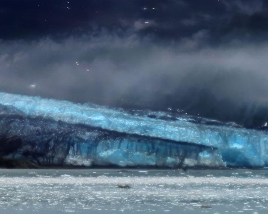 Lamplugh Glacier (1), Glacier Bay Alaska