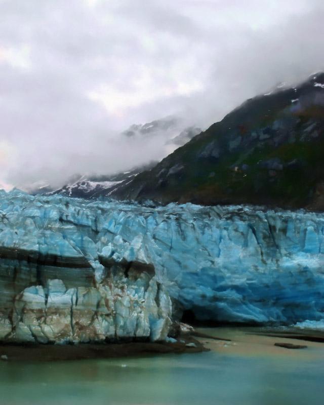 Lamplugh Glacier (2), Glacier Bay Alaska