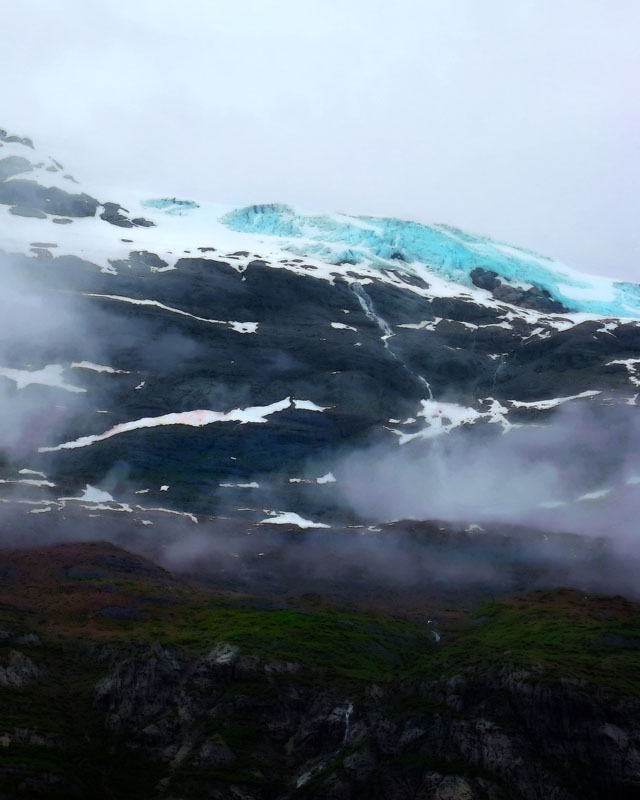 Mountain Glacier, Glacier Bay Alaska