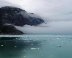 The Fog Returns to Glacier Bay Alaska