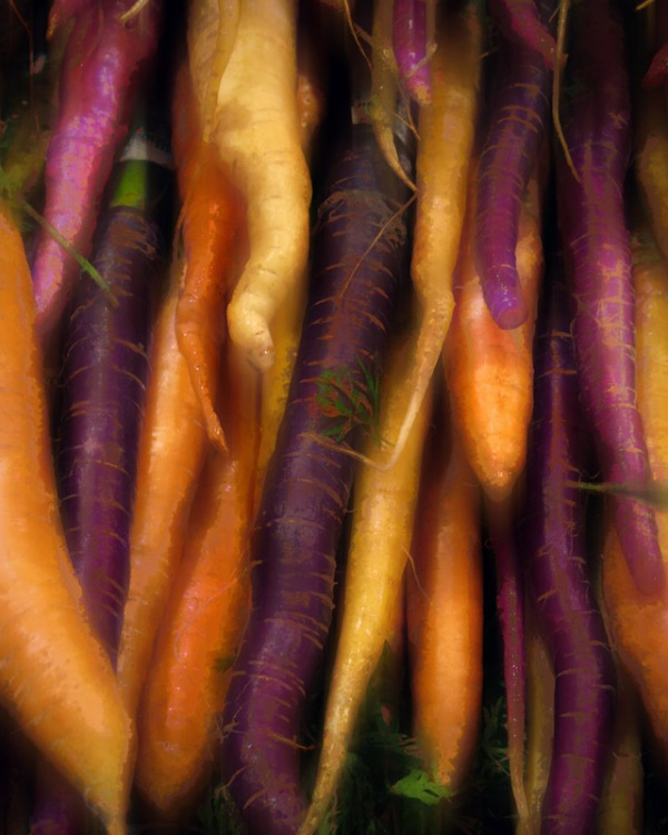 Painted Carrots