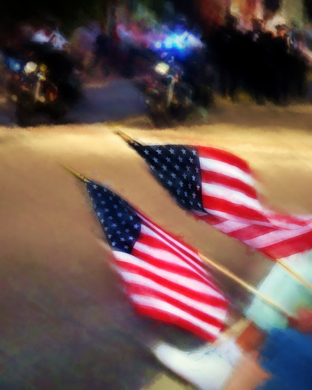 Honor to the Flag