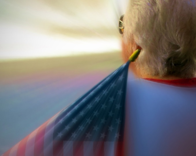 Draped in the Flag
