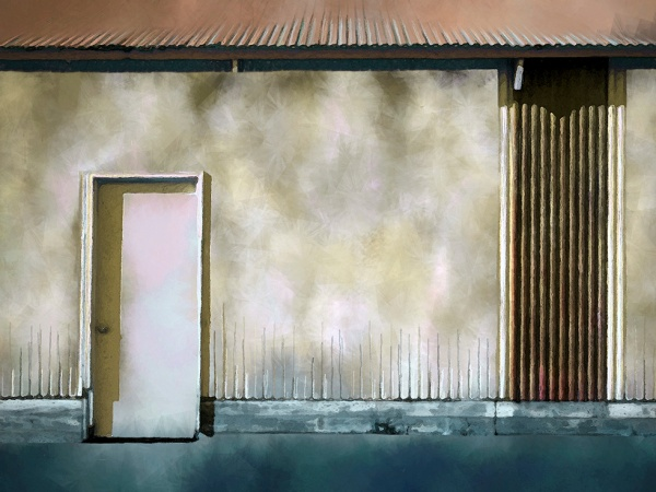 Corrugated Steel Wall