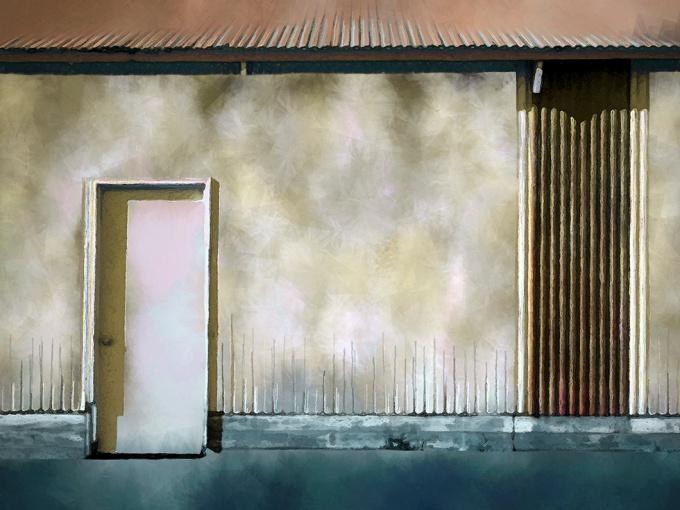 Corrugated Steel Wall