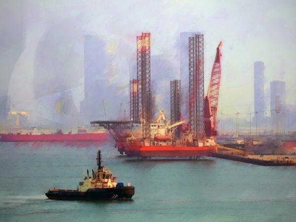 Abu Dhabi harbor