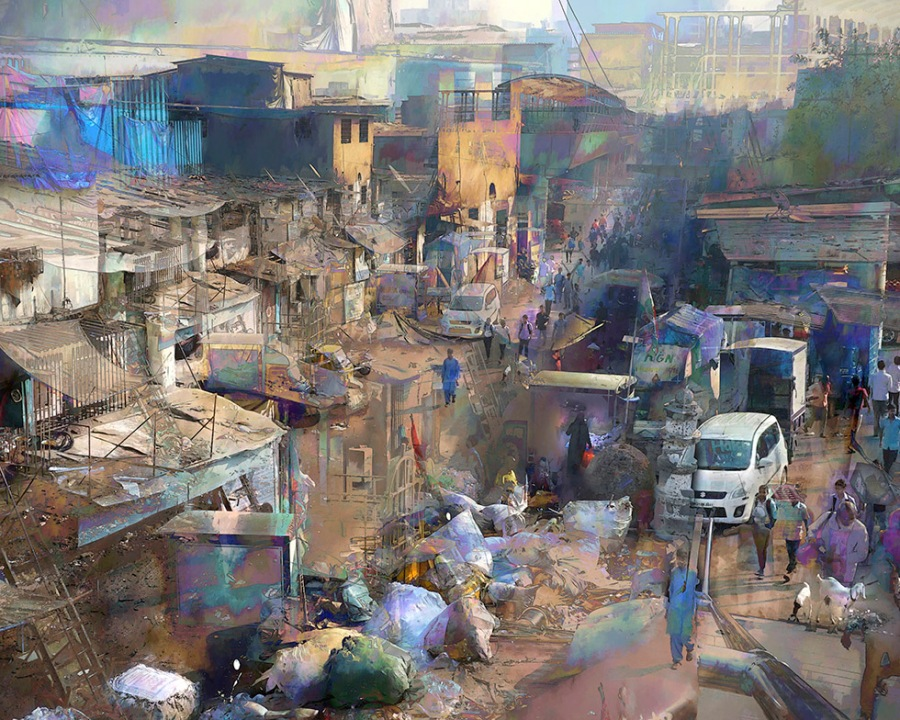 Mumbai Slum -- How it Felt